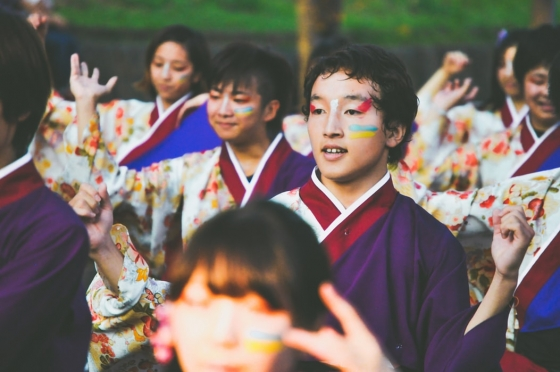 UNSW students celebrating cultural diversity